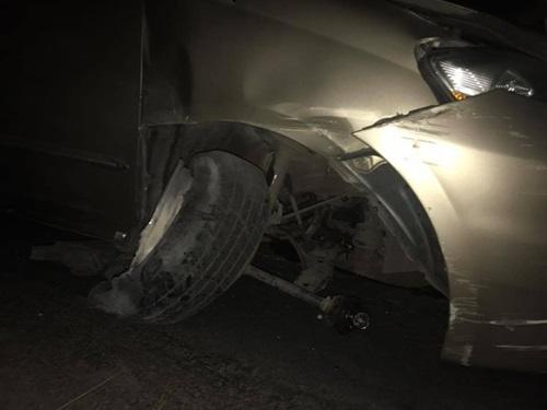 Nhật Kim Anh bị tai nạn ô tô trên đường đi diễn ở miền Tây - Ảnh 3