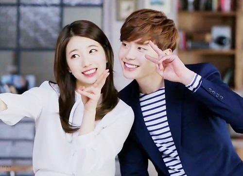 """Suzy cắt tóc ngắn, ăn vận như """"bà thím"""" khi đóng phim cùng Lee Jong Suk - Ảnh 3"""