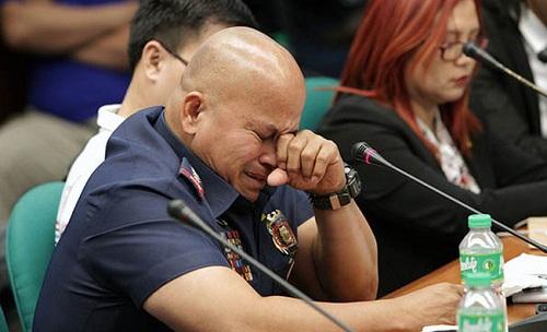 Cảnh sát trưởng Philippines òa khóc khi bị điều trần trước Thượng viện - Ảnh 1