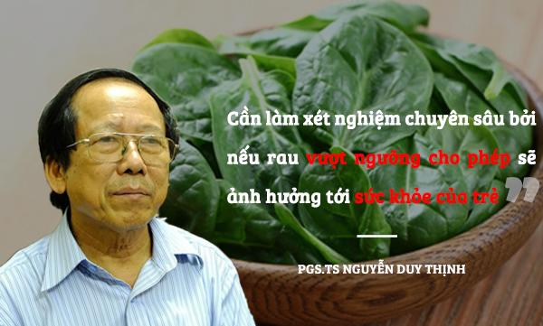Rau tồn dư thuốc bảo vệ thực vật tại trường Hoàng Liệt: Kết quả chi tiết sẽ thế nào? - Ảnh 4