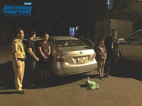 Bắt giữ các đối tượng mang ma túy, chống người thi hành công vụ - Ảnh 1