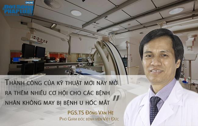 Kỹ thuật mổ nội soi u hốc mắt qua đường mũi: Thành công trong lần đầu tiên - Ảnh 2