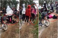 Nhóm nữ sinh đánh bạn gục xuống đường vì mâu thuẫn trên Facebook - Ảnh 1
