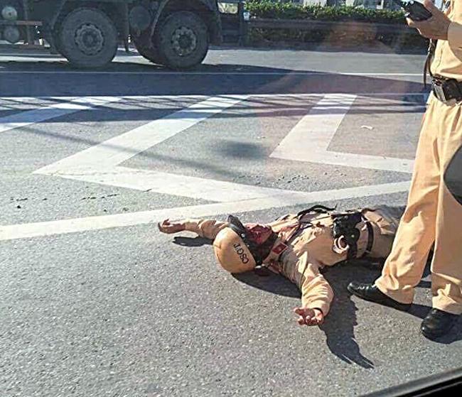 """Những lần đối mặt """"tử thần"""" của chiến sĩ CSGT - Ảnh 3"""