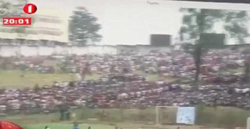 76 người thương vong trong trận đấu bóng đá tại Angola - Ảnh 1