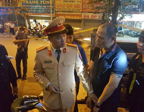 Hà Nội: Nhân viên bảo vệ mang theo ma túy bị 141 tóm gọn - Ảnh 1