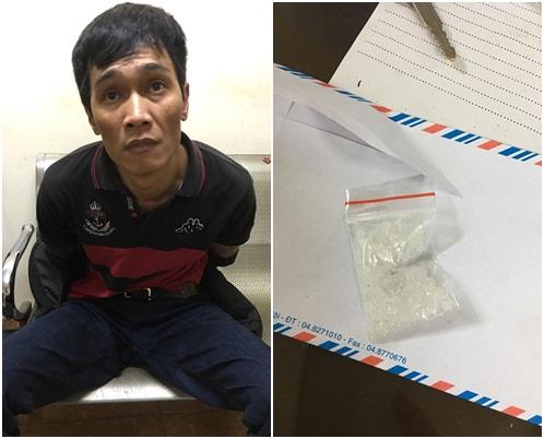 Hà Nội: Phi tang ma túy qua… ống quần nhưng vẫn bị bắt - Ảnh 1