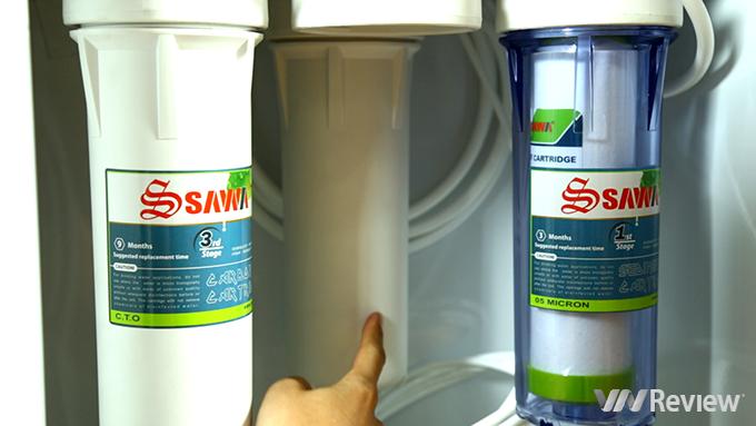 Máy lọc nước RO Sawa SI8009KCT: Thân thiện, tiện lợi - Ảnh 7