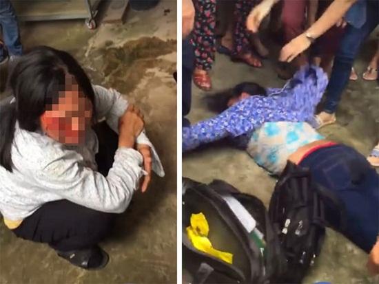 Hai phụ nữ nghi bắt cóc trẻ em bị đánh nhập viện: Chỉ là người bán tăm dạo! - Ảnh 2