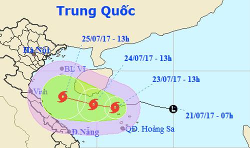Xuất hiện cơn bão số 4 mang tên Sonca   - Ảnh 1
