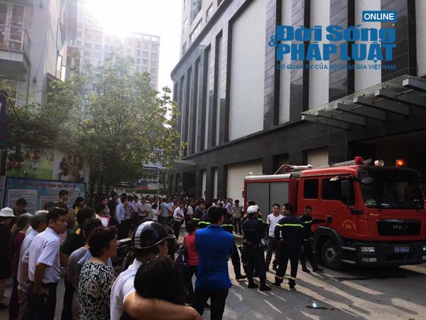Long Giang Land phản hồi về vụ cháy tại chung cư 173 Xuân Thủy - Ảnh 1