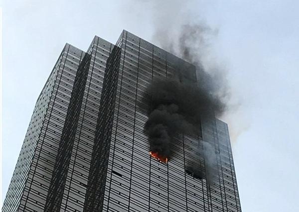 """""""Bà hỏa"""" ghé thăm Tháp Trump, 1 người thiệt mạng - Ảnh 1"""