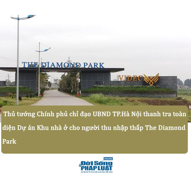 """Dự án Diamond Park: Từ dự án """"chết"""" đến bị thanh tra toàn diện - Ảnh 1"""