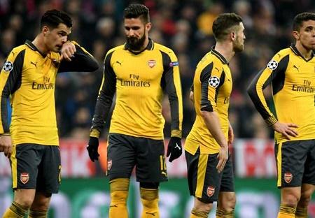 Tin bóng đá HOT 16/2: Thua thảm Bayern Munich, Arsenal nhận kỷ lục hổ thẹn - Ảnh 1