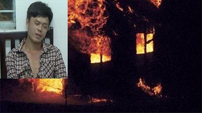 """Bắt giữ nam thanh niên """"ngáo đá"""" đập phá tài sản, dọa đốt nhà - Ảnh 1"""