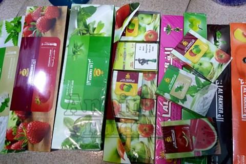 Hà Nội: 127 bộ bình, 150 gói hương liệu hút shisha nhập lậu bị tịch thu - Ảnh 2
