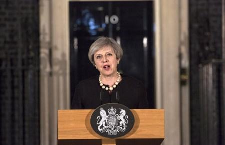 """Thủ tướng Anh lên án """"hành động đê tiện"""" của lực lượng khủng bố  - Ảnh 1"""