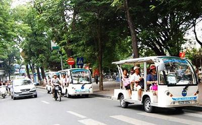 Hà Nội bác đề xuất mở rộng loại hình du lịch bằng ôtô điện - Ảnh 1