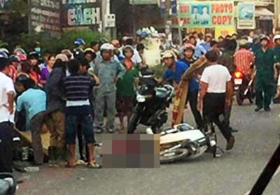 Vụ thai phụ và con gái 9 tuổi tử vong trước cổng trường: Bắt giam tài xế xe tải - Ảnh 1