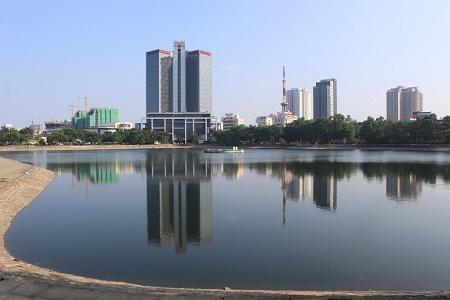 Đề xuất Hà Nội lấp hồ Thành Công để xây nhà tái định cư có phù hợp? - Ảnh 1