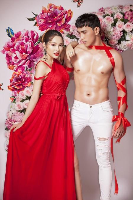 Lương Thái Trân khoe vẻ đẹp thành thị quyến rũ bên trai đẹp 6 múi Thuận Nguyễn - Ảnh 1