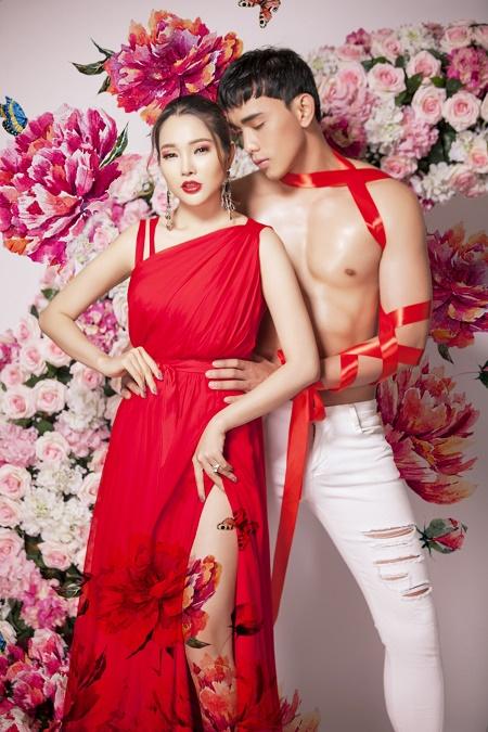 Lương Thái Trân khoe vẻ đẹp thành thị quyến rũ bên trai đẹp 6 múi Thuận Nguyễn - Ảnh 4