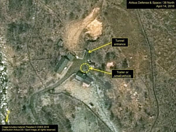 Triều Tiên sơ tán người dân gần bãi thử nghiệm hạt nhân  - Ảnh 1