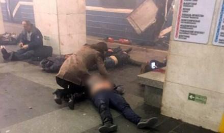 Nổ lớn gần nơi xảy ra vụ khủng bố tàu điện ngầm ở St.Petersburg - Ảnh 1