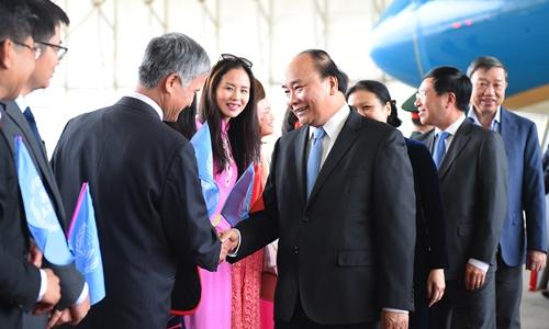 Thủ tướng Nguyễn Xuân Phúc đến New York, bắt đầu chuyến thăm Hoa Kỳ - Ảnh 1