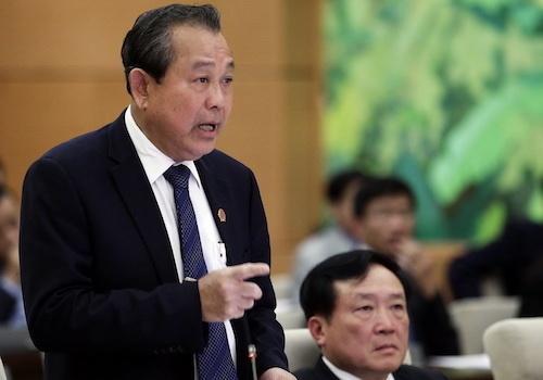 Phó thủ tướng Trương Hòa Bình: Ai tư duy nhiệm kỳ thì không xứng đáng làm cán bộ - Ảnh 1