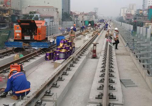 Tổng thầu đường sắt Cát Linh - Hà Đông bị xếp hạng trung bình - Ảnh 1
