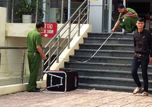 Diễn biến mới nhất vụ cướp ngân hàng táo tợn ở Đồng Nai - Ảnh 1