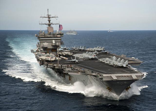 Mỹ lên kế hoạch điều tàu sân bay tới gần Triều Tiên - Ảnh 1