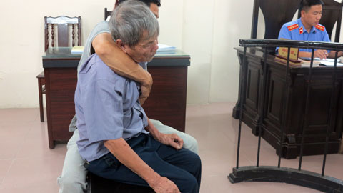 Hà Nội: Xâm hại bé gái, cụ ông 79 tuổi lĩnh 8 năm tù - Ảnh 1