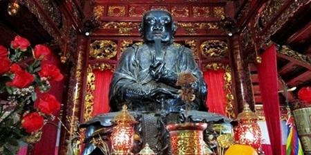 Tượng Trấn Vũ đền Quán Thánh được công nhận bảo vật quốc gia - Ảnh 1