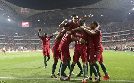 Đánh bại Thụy Sĩ, Bồ Đào Nha giành vé trực tiếp dự World Cup 2018 - Ảnh 1