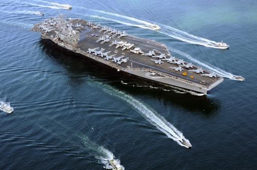 Hải quân Mỹ-Hàn dồn dập tập trận chung khi đang căng thẳng với Triều Tiên - Ảnh 1