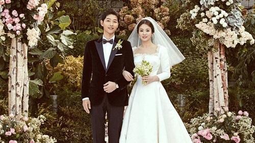 """Cặp đôi Song Hye Kyo-Song Joong Ki từ chối 13 triệu USD để quay trực tiếp """"đám cưới thế kỷ""""  - Ảnh 1"""