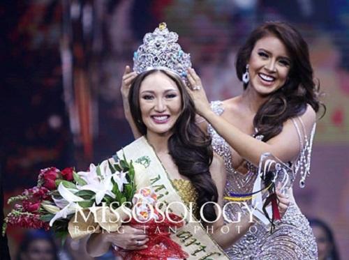 Nhan sắc tân Hoa hậu Trái đất 2017 bị chê tơi tả - Ảnh 1