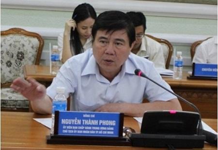 Chủ tịch TP HCM khen ngợi cách làm việc của lãnh đạo quận 1 - Ảnh 1