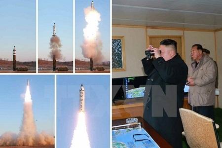 Việt Nam quan ngại trước việc Triều Tiên phóng thử 4 tên lửa đạn đạo - Ảnh 1