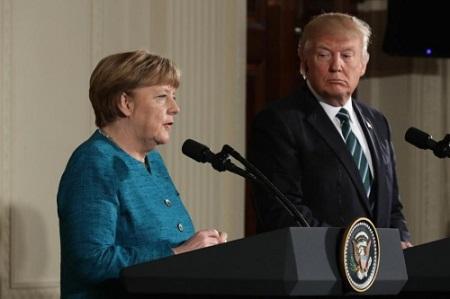 'Bà đầm thép' Merkel cũng phải nhún nhường trước Tổng thống Trump? - Ảnh 1