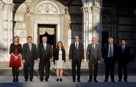 G7 không áp đặt lệnh trừng phạt vào Nga vì Syria - Ảnh 1