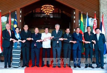 Thủ tướng Nguyễn Xuân Phúc dự phiên họp hẹp Hội nghị cấp cao ASEAN 30 - Ảnh 1