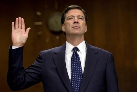 Giám đốc FBI bất ngờ bị Tổng thống Trump sa thải - Ảnh 1