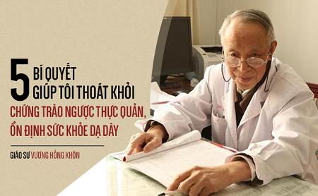 Giáo sư 80 tuổi tiết lộ bí quyết tự chữa bệnh dạ dày giúp ông khỏe mạnh, trường thọ - Ảnh 1