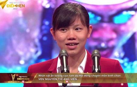 Kình ngư Ánh Viên được vinh danh tại VTV Awards 2017 - Ảnh 1
