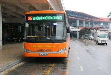 Hà Nội: Yêu cầu thêm xe buýt chạy đêm ở sân bay Nội Bài dịp Tết - Ảnh 1