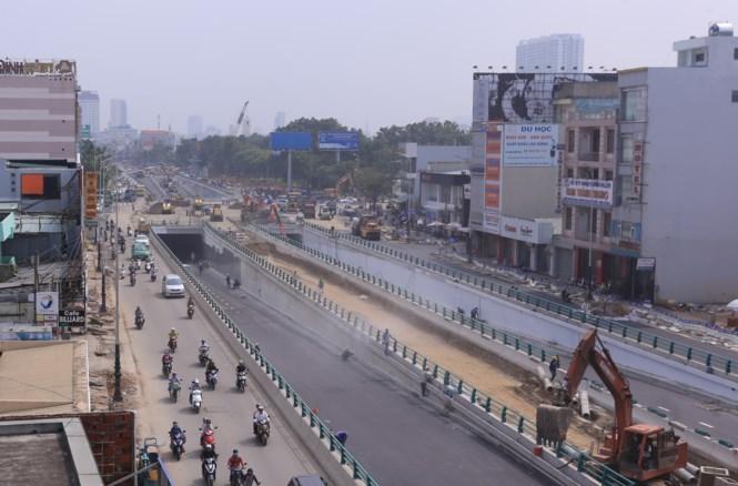 Đà Nẵng dời ngày thông xe hầm chui phục vụ APEC  - Ảnh 1