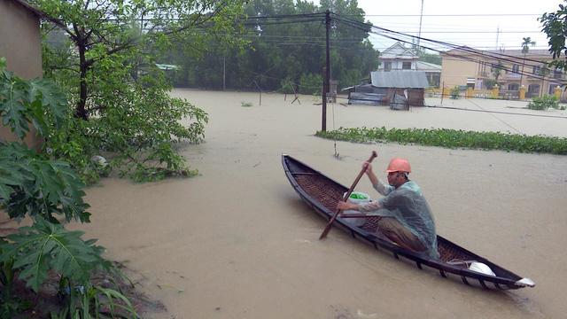 Phú Yên: Cảnh báo lũ lịch sử sau khi bão số 12 đổ bộ - Ảnh 1